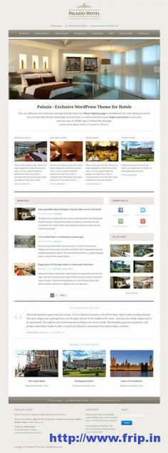 Do you need a WordPress theme for your Hotel Website ?? Then,you will get a professional and affordable design within minutes with the help of our own Hotel WordPress Themes list.Check out this post to choose your favorite hotel wp theme from our list. #wordpress #hotel #theme