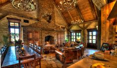 Captures my style better than any other builder out there!! Timber and Stone Builders - Vintage Homes.