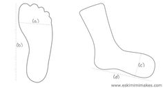 Make your own sock blockers   Eskimimi Makes