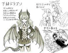 The Dragons of Skyrim but drawn as anime girls. [Slightly NSFW] Fantasy Girl, Anime Kunst, Anime Art, Character Concept, Character Art, Skyrim Dragon, Monster Boy, Anime Monsters, Dragon Girl