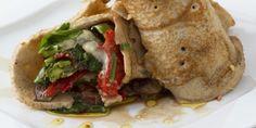 Wrap met gemengde groenten uit het Tempelkookboek