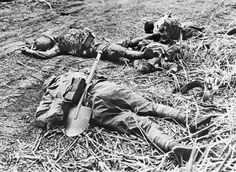 Charging Japanese soldiers were mowed down by U.S. Marine small-arms and artillery fire during the night attack of September 13, 1942, on Guadalcanal. The Marines of Company K endured horrific combat as waves of Japanese troops attempted to breach their lines.