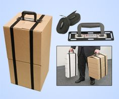 Traveling over the holidays? This invention let's you carry stacks of boxes & luggage with ease! (Price: $29.99)