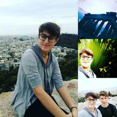 Walk in Acropolis, with my best friend!