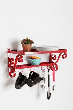 Show off your fab kitchen accessories. #urbanoutfitters #kitchen