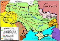 Ukraine in 1918 Contemporary History, Ukrainian Art, Historical Maps, Geography, Planer, Politics, Films, Posters, Maps