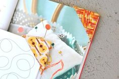 These fabric corner bookmarks by designer Lindsay Conner of Craft Buds and Lindsay Sews are a quick-sew projects to make with fabric scraps. You can make one for yourself or gift one to an avid reader in your life.