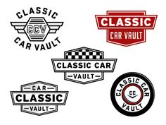Classic Car Vault by Bret Baker