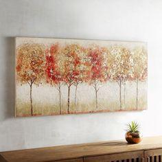 Crimson Trees Art