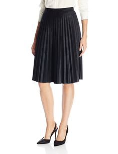 Calvin Klein Women's Pleated Skirt >>> This is an Amazon Affiliate link. Want to know more, click on the image.