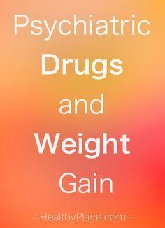 """sychiatric drugs like antipsychotics and antidepressants often cause weight…"
