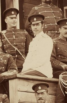 Tsarevich Nicholas and the regiment of Krasnoe Selo