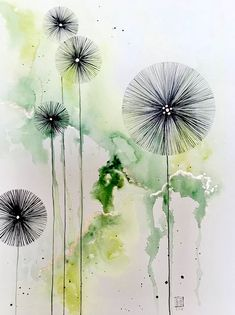 Become a patron of CeeCee today: Read 501 posts by CeeCee and get access to exclusive content and experiences on the world's largest membership platform for artists and creators. dessinateur Créations CeeCee is creating art and tutorial videos Watercolor And Ink, Watercolor Flowers, Watercolor Paintings, Acrylic Paintings, Drawing Flowers, Watercolors, Abstract Watercolor Art, Alcohol Ink Art, Art Floral