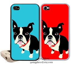 Boston Terrier iPhone Case Fits iPhone 5 5c 4 and by GoingPlaces2, $24.95