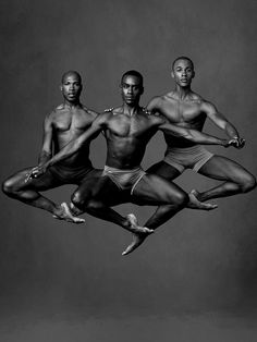 Alvin Ailey Dancers - A. Douthit, K. Boyd and Y. Lebrun (by Anderw Eccles)