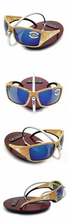 61dc12e3dab7 Sunglasses 151543  New Costa Del Mar Saltbreak Black   580 Blue Mirror  Glass 580G BUY IT NOW ONLY   174.95