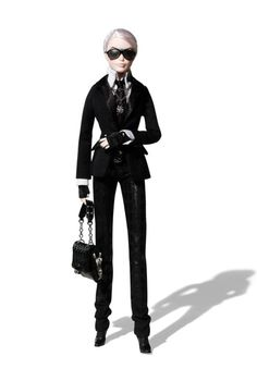 76db6cf0df3e Karl Lagerfeld Barbie Doll Accessoire Poupee, Poupee Doll, Poupées Barbie,  Accoutrement, Couture