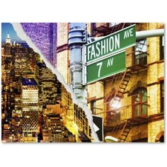 Trademark Fine Art Fashion Avenue Canvas Art by Philippe Hugonnard, Size: 14 x 19, Multicolor