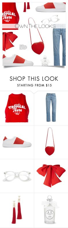 """""""Own The Looks"""" by loloksage ❤ liked on Polyvore featuring GCDS, Brock Collection, Givenchy and Rosantica"""