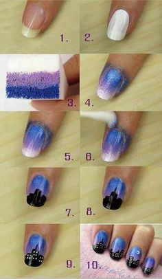 Ladies Nails Art Tutorials...