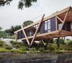 Wood House / Robert Laguerta - Learn V-Ray