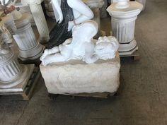 the sleeping sculpture of love, the Greek god of love, Greek white marble Greek antiquity, replica - Hellas Art by SiloArtFactory Greek Antiquity, Greek Gods, Recycled Art, White Marble, Metal Working, Sculptures, Carving, Antiques, Antiquities