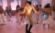 Michael Jackson gif doing the famous RTT dance :)