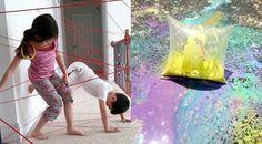20 Ideas geniales para convertir tu casa en un PARQUE de diversiones para NIÑOS