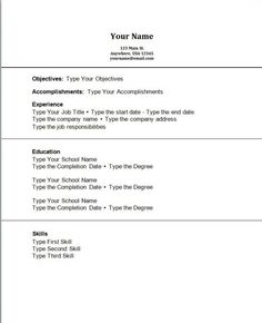 first job resume no experience httpjobresumesamplecom2055