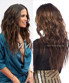 New hair styles for 2017 at Hairvivi.com, Rocsi long wavy hairstyles, celebrity wigs front lace human hair, Brazilian hair quality lace wigs. 4.5 Straight Lace Front Wigs, Front Lace, Wig Styles, Long Hair Styles, Celebrity Wigs, Brown Highlights, Long Wavy Hair, Hair Quality, Brazilian Hair