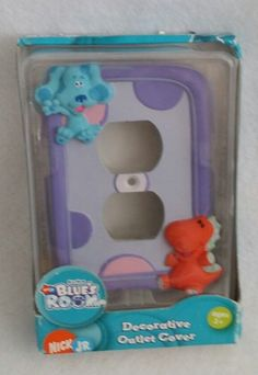 New Nickelodeon Jr. Blues Room Decorative Outlet Cover Color Purple New    Home & Garden, Home Improvement, Electrical & Solar   eBay!