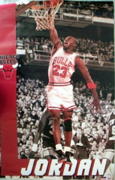 Jordan Poster from early '90s