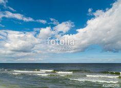 Erholsame Stunden am Meer, Kurztrip an die Küste,  Wellen, Wind, Sonne und Wolken, grenzenlose Weite, Horizont