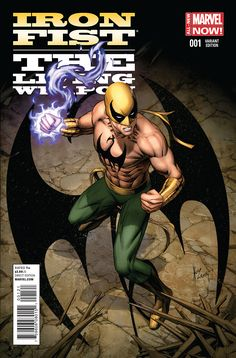 Preview: Iron Fist: The Living Weapon #1, Page 1 of 7 - Comic Book Resources