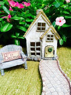 Fairy Garden Kit  Starter Set  Cottage by BeachCottageBoutique