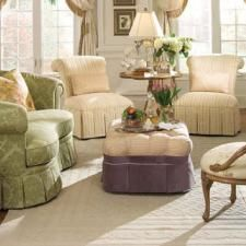 Traditional Living Room Ideas & Pictures | DesignMine  A man cave has nothing on us, we women have the rest of the house!!!!!