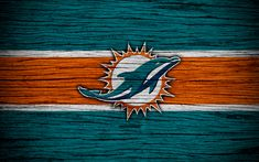 Miami Dolphins Logo, American Conference, Nfl Football Helmets, Wooden Textures, Sports Wallpapers, American Football, National Football League, New York Giants, Dolphins