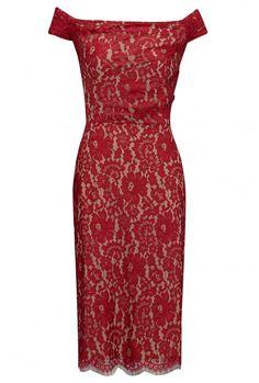 Nigella dress in flower lace