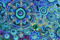 Mosaic Art Design Photograph by