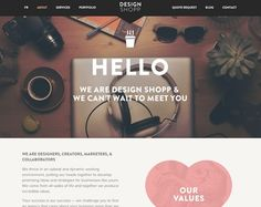 17 Beautiful About Pages #aboutpages #webdesign