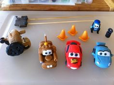 Cars Fondant Figures! No tutorial but I'll try it :)