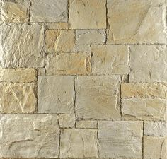 Having a stone exterior wall just like this can help keep warmth in and also hold a lot of warmth Wall Cladding Tiles, House Cladding, Facade House, Wall Tile, Brick And Stone, Stone Work, Stone Walls, Sandstone Cladding, Retaining Wall Steps