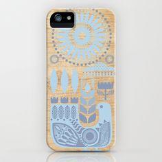 Folk II iPhone & iPod Case by Marta Olga Klara | Society6