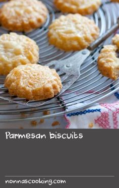 Parmesan biscuits |      You'll never tire of cooking Simon Hopkinson's easy cheesy biscuit recipe: perfect for weekend baking.