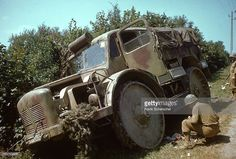 US troops examine an abandoned German military vehicles on side of a road, Avranches, France, Pin by Paolo Marzioli Army Vehicles, Armored Vehicles, Luftwaffe, Raiders, Battle Of Normandy, Bug Out Vehicle, Military Love, Steyr, Military Diorama