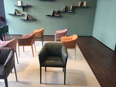 Cotone. nieuwe stoel van Bouroullec. #cassina #rowanbouroullec #salonedelmobile2017