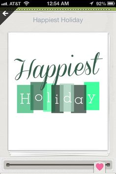 Happiest Holiday. Gymboree cover image in Shopkick.
