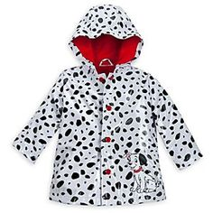 Disney 101 Dalmatians Rain Jacket for Baby | Disney Store101 Dalmatians Rain Jacket for Baby - When it's raining cats and dogs, Baby will stay high and dry in this <i>101 Dalmatians</i> Rain Jacket. Puddles of pups are camouflaged against the Dalmatian print design of this waterproof coat with jersey knit lining for added warmth.