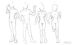 manga body drawing - Pesquisa do Google