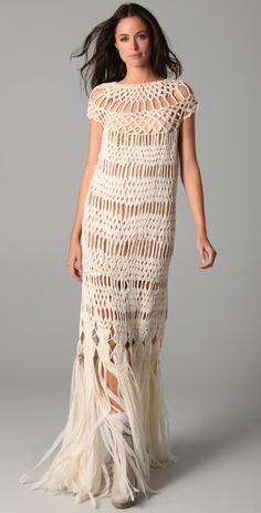 James Long Full Macrame Dress | SHOPBOP SAVE UP TO 25% Use Code: GOBIG17